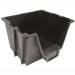 Black Storage Bin by IRIS