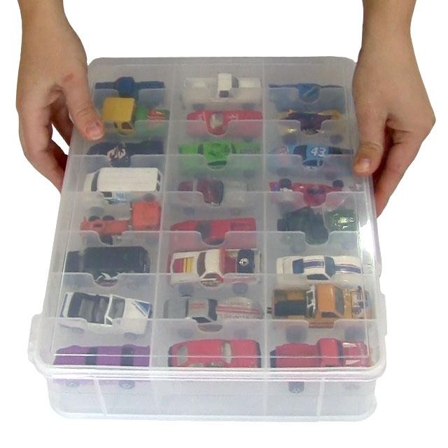 Toy Car Storage : Toy car carry case matchbox storage by plano ebay
